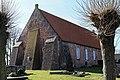 Jemgum Critzum - Achter'd Kark - Friedhof + Kirche 04 ies.jpg