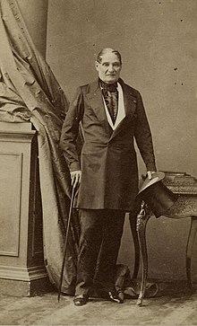 Jérôme Bonaparte in 1852 (Source: Wikimedia)