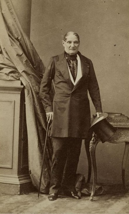 Jerome Bonaparte in 1852 Jerome bonaparte.jpg