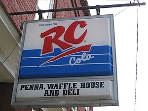 RC Cola - A sign in Jersey Shore, Pennsylvania