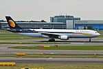 Jet Airways, VT-JWT, Airbus A330-302 (28476673555).jpg