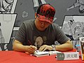 Jian Hung's book signing, Comic Exhibition 20170813b.jpg