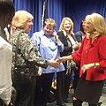 Jill Biden visits Pellissippi State Community College in 2015.jpg
