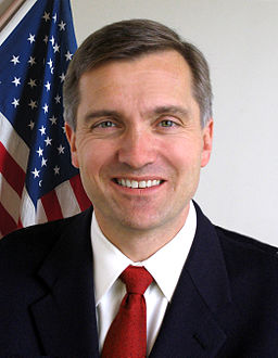 Jim Matheson, official color photo portrait