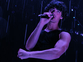 Joe Jonas - Joe Jonas on Jonas Brothers World Tour, in 2009.