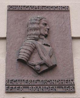 Johan Caspar von Cicignon Danish/Luxembourgian military officer