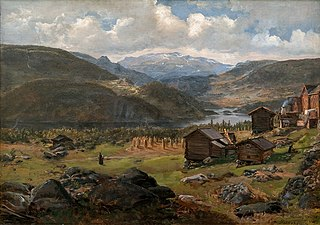 View of Hjelle in Valdres