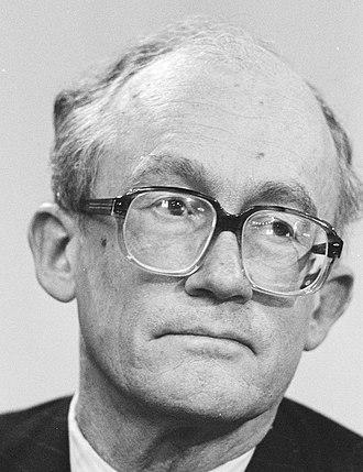 Johan Witteveen - Johan Witteveen in 1984