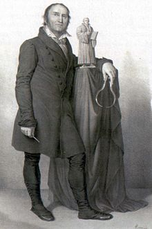 Lithographic print (1830) of Johann Gottfried Schadow (Source: Wikimedia)
