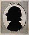 Johann Caspar Lavater. Engraved silhouette by J. H. Lips (?) Wellcome V0003406.jpg