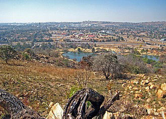Bedfordview - Northwestern view on Bedfordview