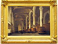 Johannes Bosboom (1793-1861), Interieur van de kerk van Edam, Olieverf op doek.JPG