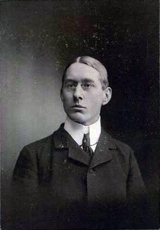 Johannes V. Jensen - Johannes V. Jensen in 1902.