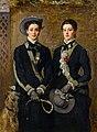 John Everett Millais (1829-1896) - The Twins, Kate and Grace Hoare - PD.36-2005 - Fitzwilliam Museum.jpg