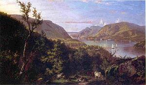 John Ferguson Weir - Image: John Ferguson Weir, Hudson Highlands, West Point