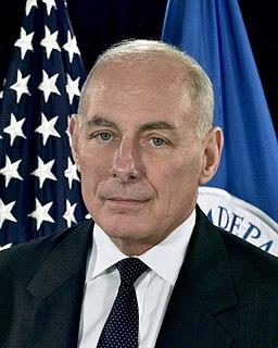 John Kelly official DHS portrait