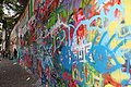 John Lennon Wall, Prague August 2014 - panoramio.jpg