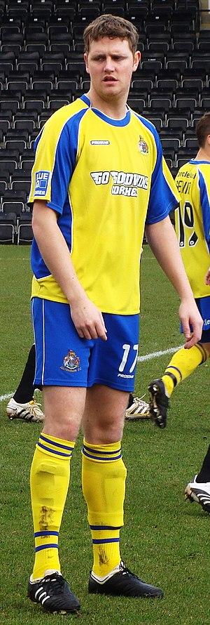 John McAliskey - McAliskey playing for Altrincham