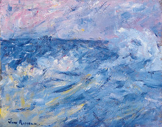 John Peter Russell - Image: John Peter Russell Stormy Sky and Sea, Belle Ile, off Brittany