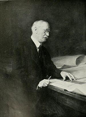 John William Simpson - Portrait by Arthur Stockdale Cope