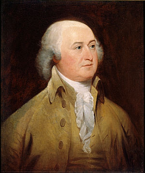 Elbridge Gerry - John Adams (portrait by John Trumbull) held Gerry in high regard.
