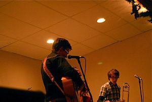 Jon-Rae Fletcher - Image: Jon Rae Fletcher performing in Kelowna
