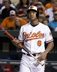 Jonathan Schoop on September 26, 2013.jpg