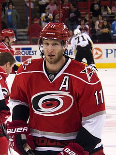 Jordan Staal Canadian ice hockey player
