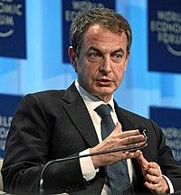 José Luis Rodríguez Zapatero en el Foro Económico Mundial (recortada).jpg