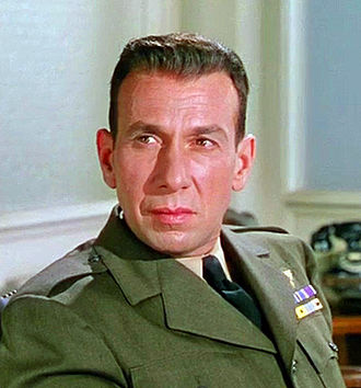 José Ferrer - Ferrer as Barney Greenwald in The Caine Mutiny, released in 1954