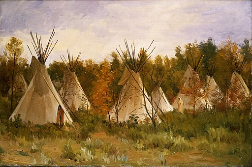 Joseph Henry Sharp - The Summer Camp (c.1906)