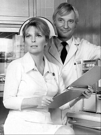 Julie London - London and husband Bobby Troup in 1971, in Emergency!