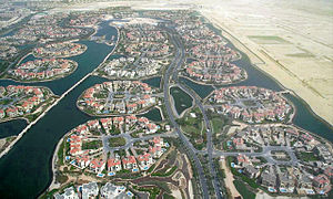 Jumeirah Islands - Image: Jumeirah Islands on 1 May 2007