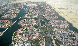 Jumeirah Islands Community in Dubai, United Arab Emirates