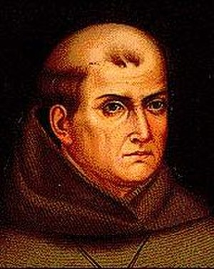 History of Hispanic and Latino Americans in the United States - A portrait of Junípero Serra.