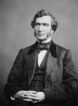 Justin Smith Morrill. Library of Congress desc...
