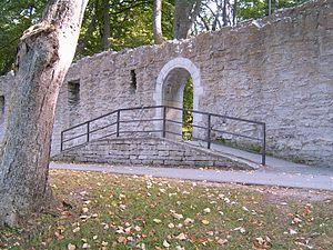 Visby City Wall - Image: Kärleksporten in Visby