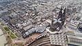 Kölner Dom Luftbild - cologne cathedral aerial (24721848444).jpg