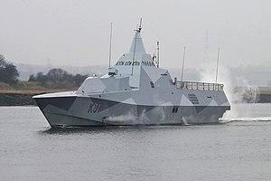 Splinter pattern camouflage - Image: K31 H Sw MS Visby (8643086211)