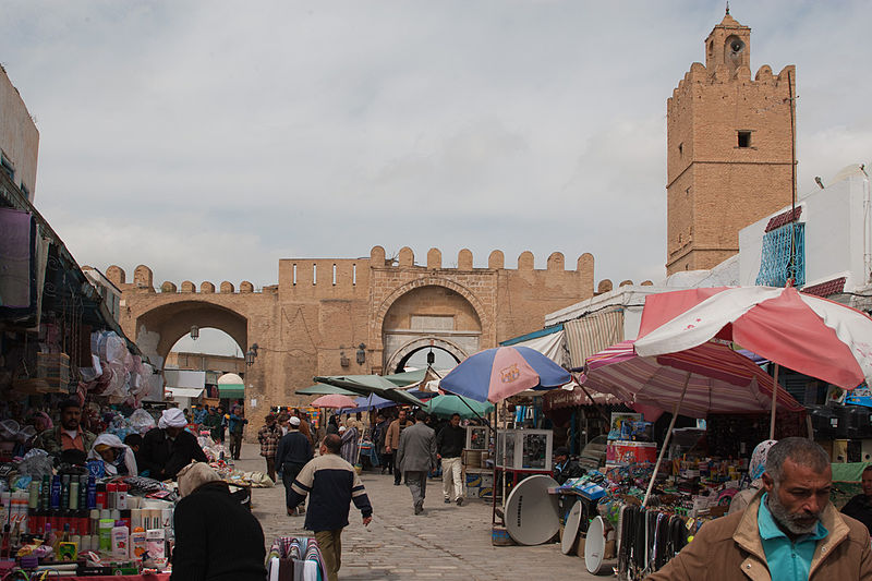 Kairouan Medina. Setting of the Cairo Medina in Raiders of the Lost Ark