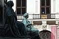 Kaiser Franz-Denkmal Hofburg Wien 2015 Sitzfiguren Friede Glaube 2.jpg