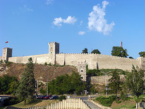 Serbian Empire - Skopje Fortress, where Dušan adopted the title of Emperor at his coronation