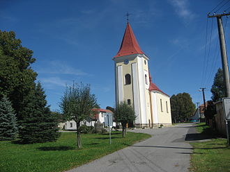 Kaliště (Pelhřimov District) - Church of St John the Baptist