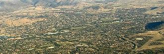 Kambah, Australian Capital Territory - Aerial photo from east