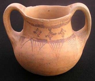 Albanian art - An Devollian pottery from Kamenica.