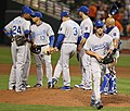 Kansas City Royals starting pitcher Danny Duffy (23) (5757573622).jpg