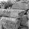 Kapernaum. Architectuurfragmenten bij de deels gereconstrueerde ruine van een s…, Bestanddeelnr 255-1538.jpg