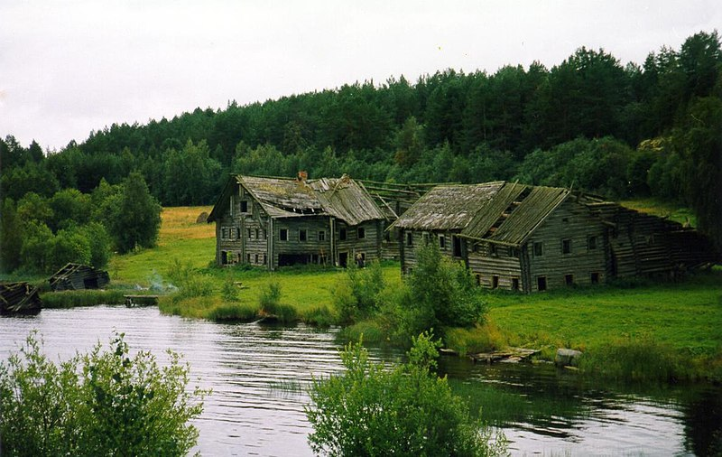 Finnish Old Houses Drakkar Island