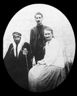 Karen Jeppe - Jeppe together with Misak and Hajim Pahsa near Aleppo