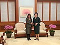 Karen Pence and Kim Jong-suk Feb 2018.jpg
